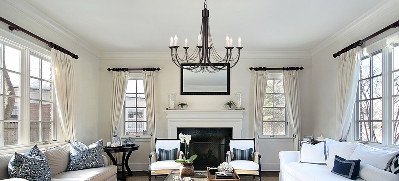 Classic and modern chandeliers