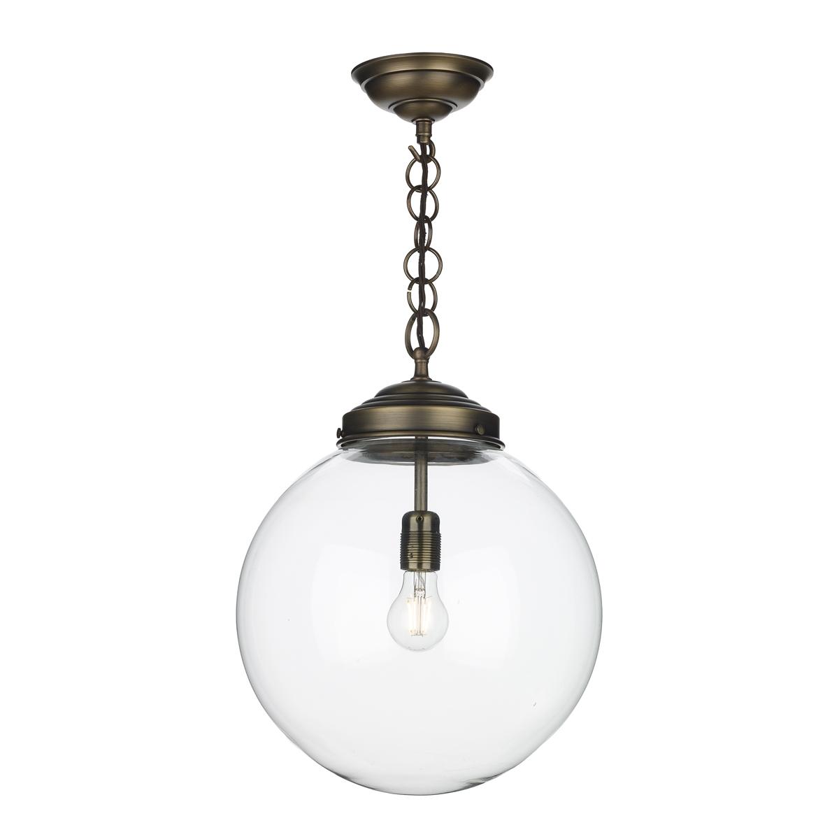 david hunt lighting fairfax antique brass pendant fai0175