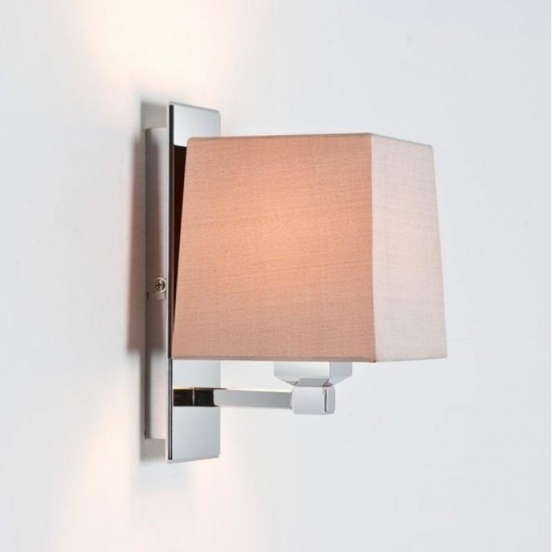 Astro Lambro Polished Nickel Wall Light 0664
