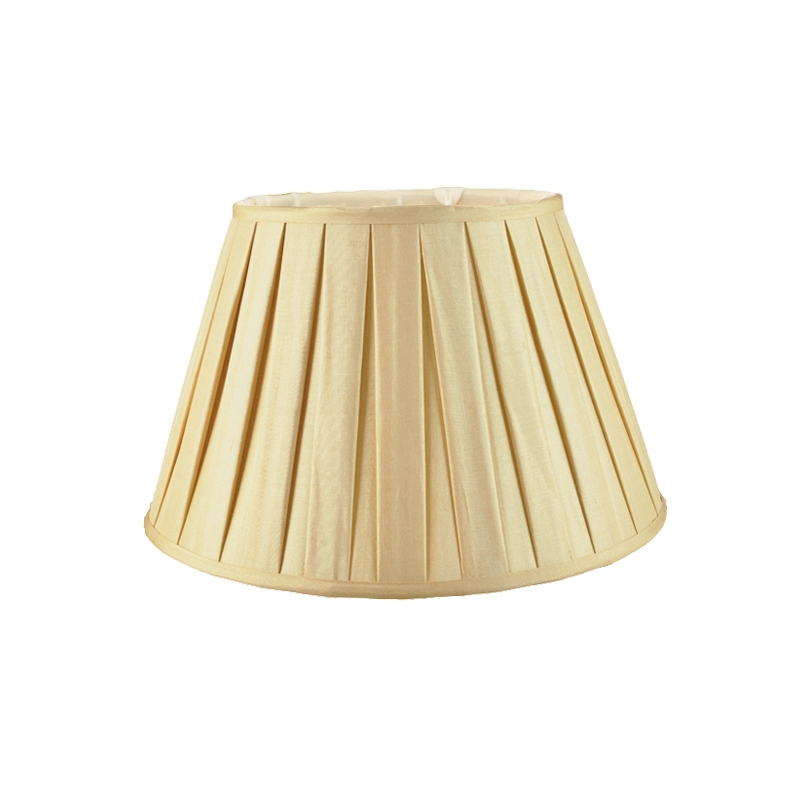Chartreuse Empire Box Pleat Hand Made Lampshade