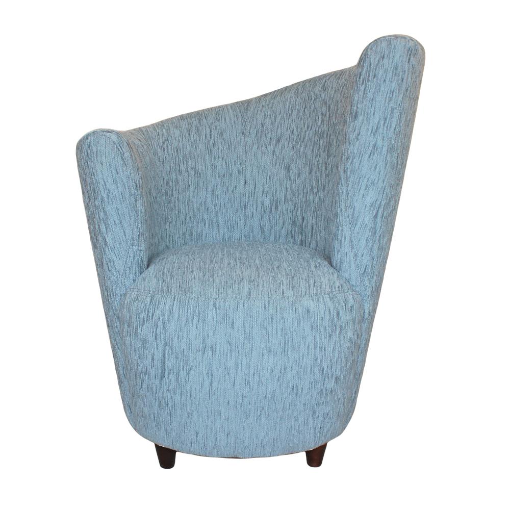 Pale Blue Contemporary Tub Chair
