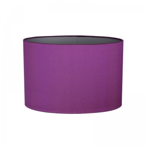 Traditional standard lampshades decor harrogate contemporary silk drum shade in purple mozeypictures Images